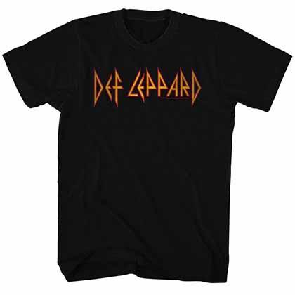 Def Leppard Def Leppard Mens Black T-Shirt
