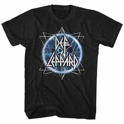 Def Leppard Electric Eye Mens Black T-Shirt