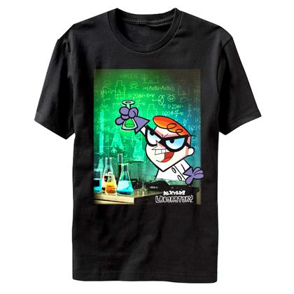 Dexters Lab Chemistry Tshirt