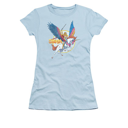 He-Man Juniors Blue Swiftwind She-Ra Tee Shirt