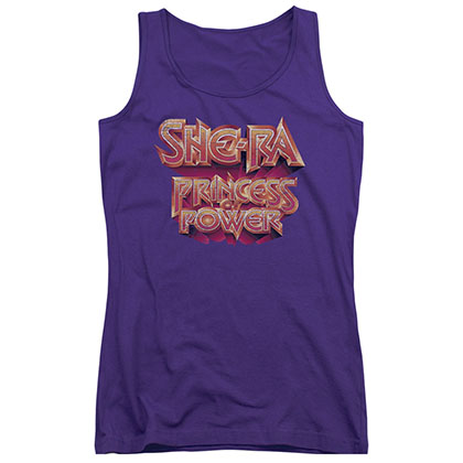 She-Ra Princess Of Power Purple Juniors Tank Top