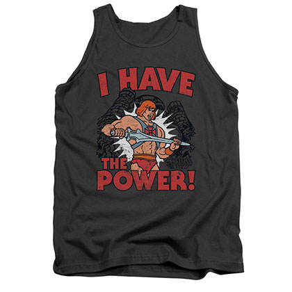 He-Man Men's Gray I Have The Power Tank Top