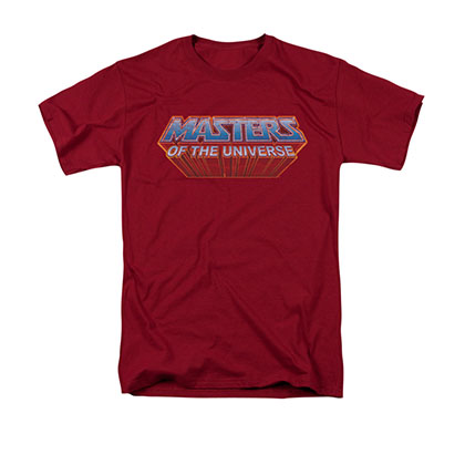 He-Man Men's Red Logo Tee Shirt