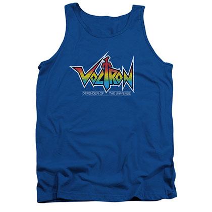 Voltron Logo Blue Tank Top