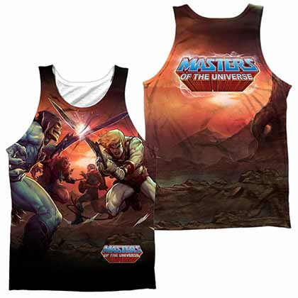 Masters Of The Universe Battle Sublimation Tank Top