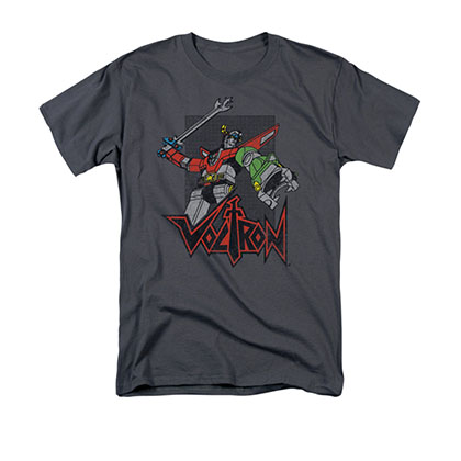 Voltron Roar Gray T-Shirt