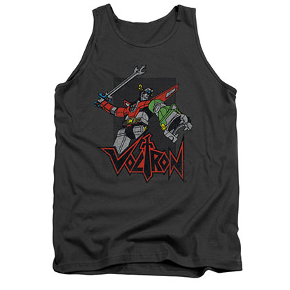 Voltron Roar Gray Tank Top