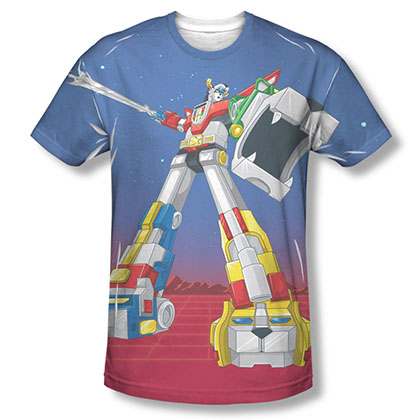 Voltron Form Sublimation T-Shirt