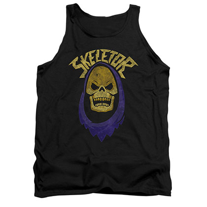 He-Man Men's Black Skeletor Hood Tank Top