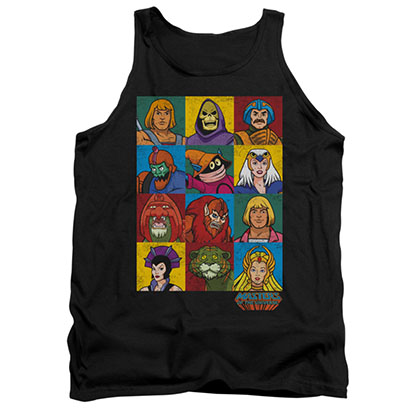 He-Man Masters Of The Universe Characters Tank Top
