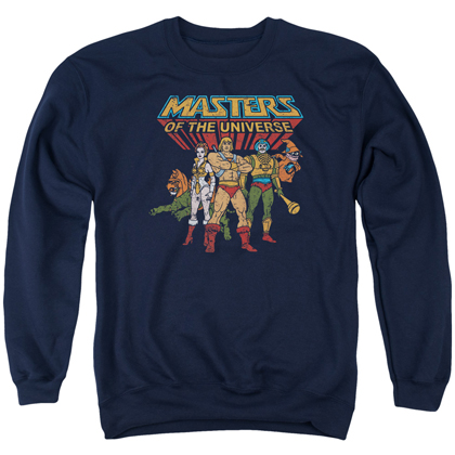 Masters of the Universe Team Of Heroes Crewneck Sweatshirt