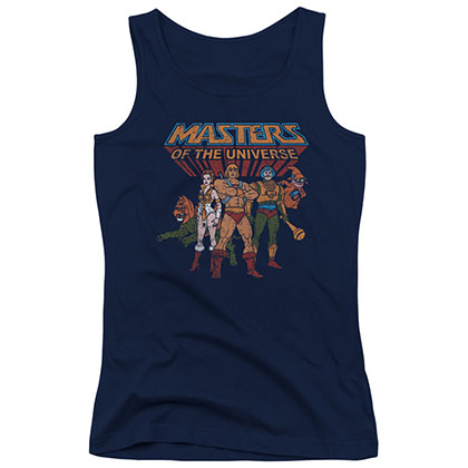 He-Man Masters Of The Universe Heroes Blue Juniors Tank Top