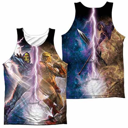 Masters Of The Universe Strike Sublimation Tank Top