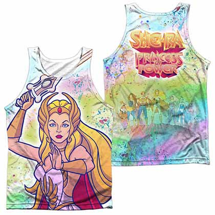 She Ra Title Sublimation Tank Top