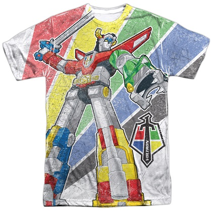 Voltron Mighty Robot Sublimation T-Shirt