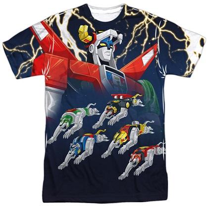 Voltron Transform Sublimation T-Shirt