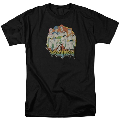 Voltron Group Shot Tshirt