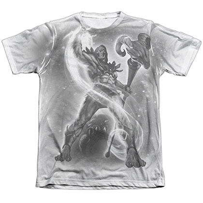He-Man Skeletor B&W Art Sublimation T-Shirt