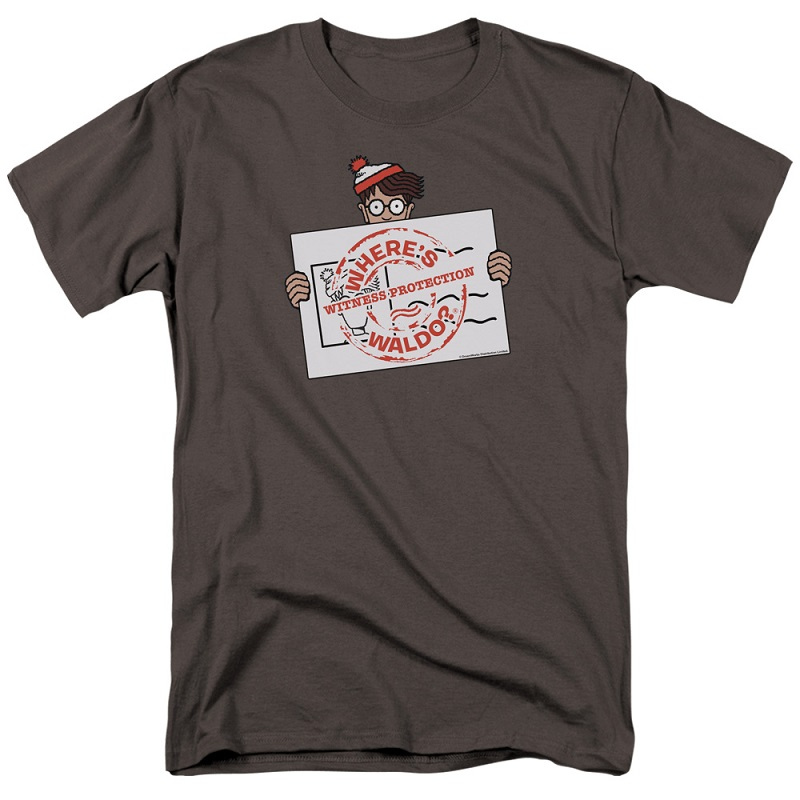 Wheres Waldo Witness Protection Tshirt