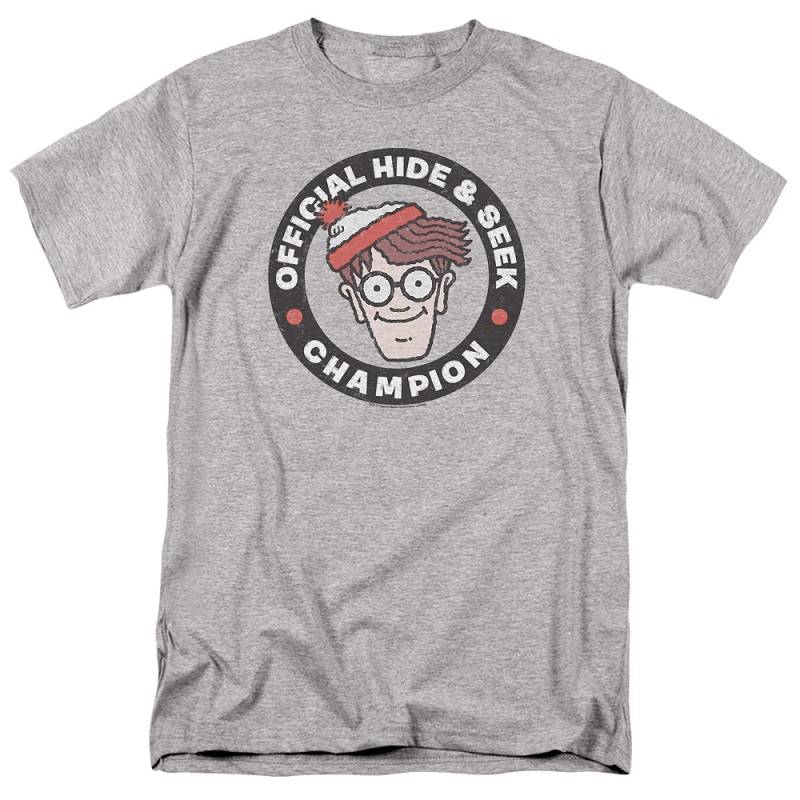 Wheres Waldo Hide and Seek Champion Tshirt