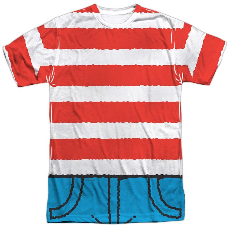 Wheres Waldo Costume Tshirt