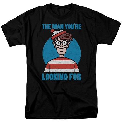 Wheres Waldo The Man You're Looking For Tshirt