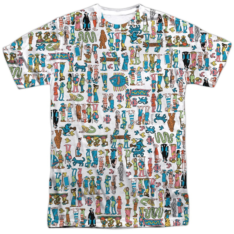 Wheres Waldo Hidden Figures Tshirt
