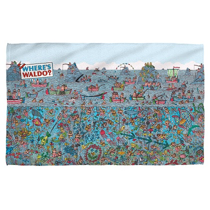 Wheres Waldo Beach Towel