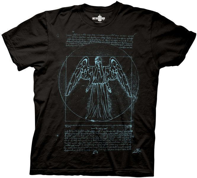 Doctor Who Angel Tshirt