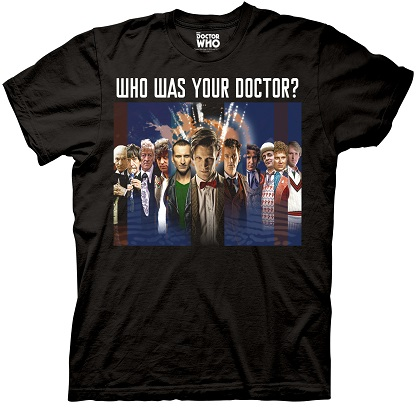 Doctor Who Your Doctor Tshirt