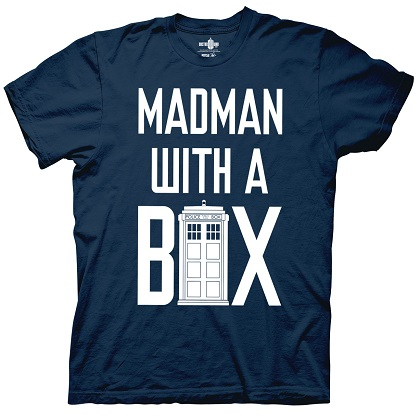 Doctor Who Madman With A Box Tshirt