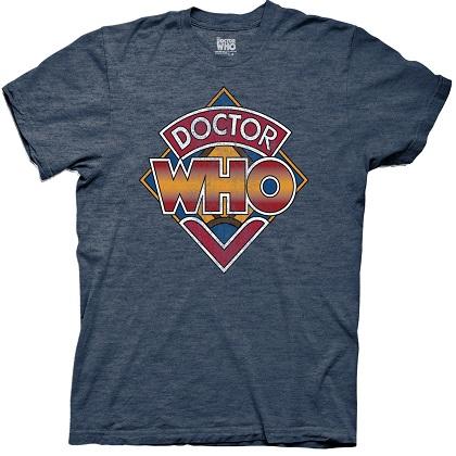 Doctor Who Vintage Logo Tshirt