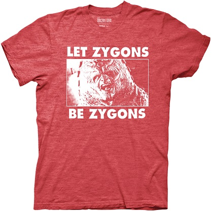 Doctor Who Let Zygones Be Zygones Tshirt