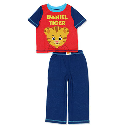 Daniel Tiger Toddler's Blue And Red Outfit