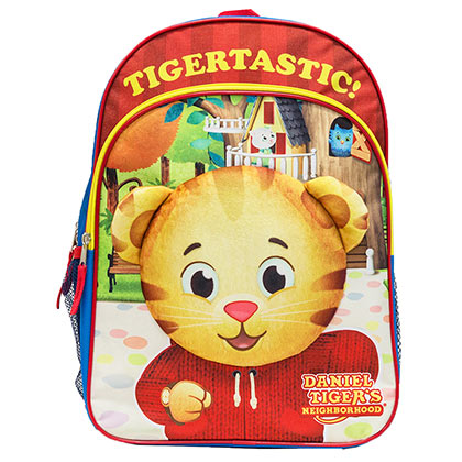 Daniel Tiger's Neighborhood 16 Inch Kids Backpack
