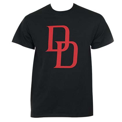 Daredevil Logo Men's Black T-Shirt