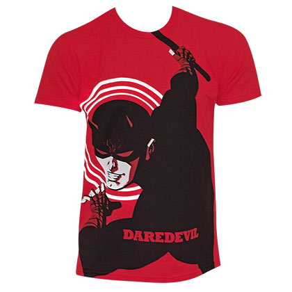 Daredevil Comic Michael Cho Art Red Shirt