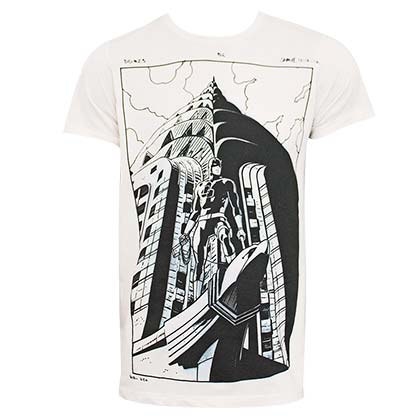 Daredevil Illustrated Comic Art Men's Off-White T-Shirt