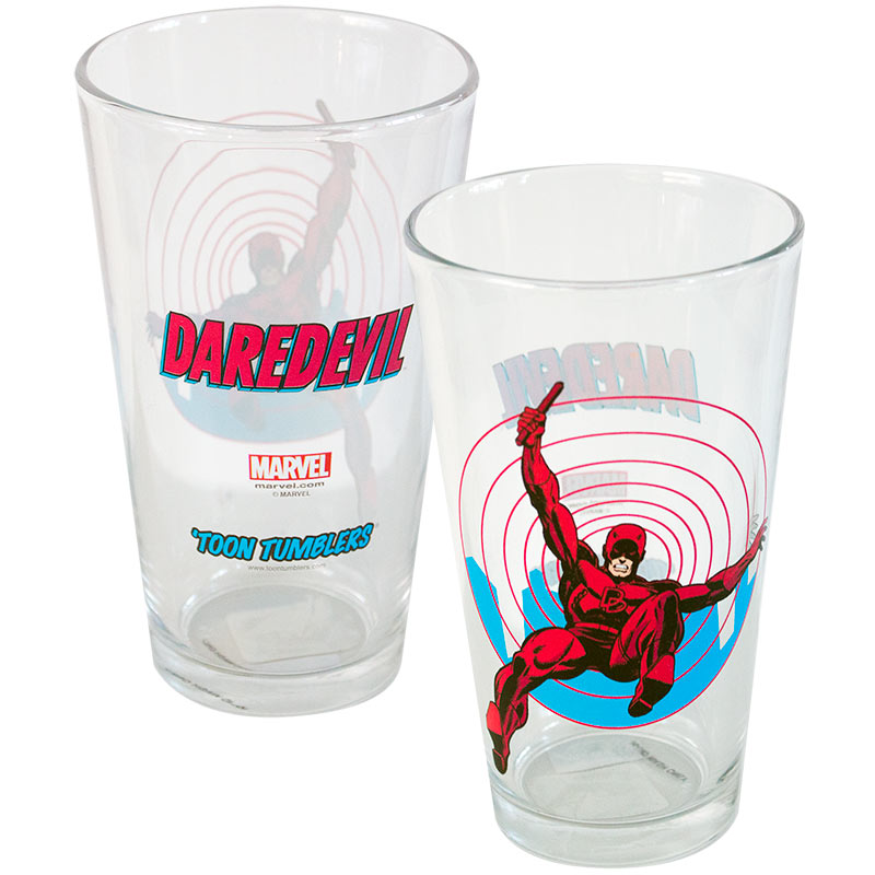 Daredevil Toon Tumbler Glass
