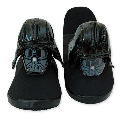 Star Wars Black Darth Vader Slippers