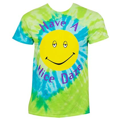 Dazed And Confused Men's Tie Dye Have A Nice Daze T-Shirt