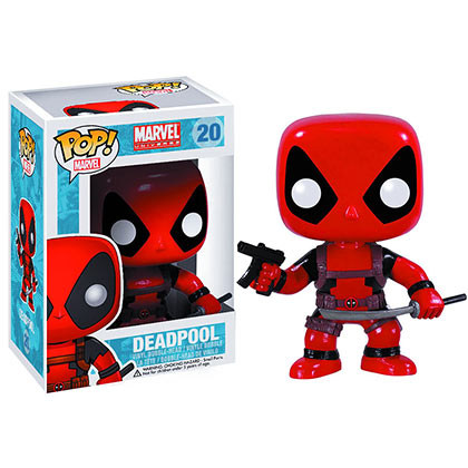 Funko Pop Red Deadpool Bobble Head