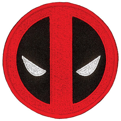Deadpool Comic Logo Iron On Patch