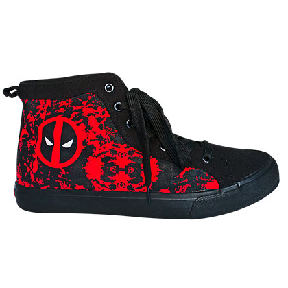 Deadpool Superhero Adult Sneakers