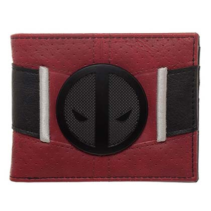 Deadpool Suit Up Badge Wallet
