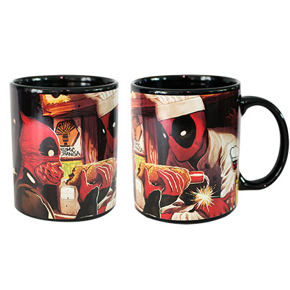 Deadpool Color Changing Mug