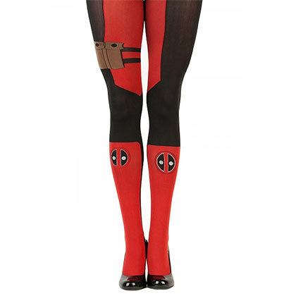 Deadpool Women's Red Tights