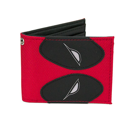 Deadpool Mask Bi-Fold Wallet