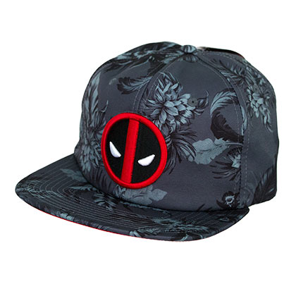 Deadpool Floral Adjustable Hat