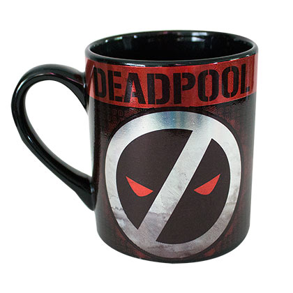 Deadpool Logo 14 Ounce Ceramic Mug